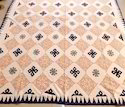 Applique Patchwork Bedspread