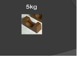 5kg Test Weights