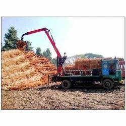 Timber Recycling Crane