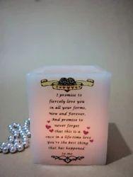 方形空心LED蜡烛