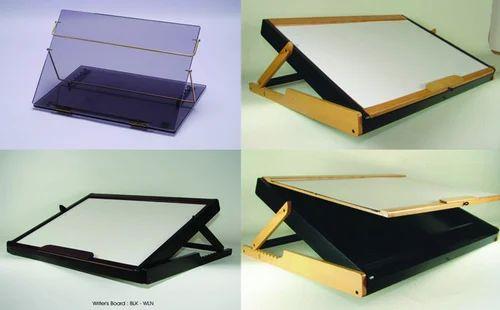 Beautiful Elevated Desk Top   Acrylic U0026 Wooden