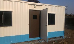 Steel Portable Site Cabin