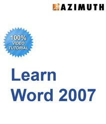 MS Word 2007 Video Course