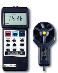Anemometer with Air Flow & Velocity Lutron