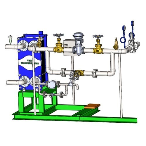 Process Control System Instant Hot Water Generation
