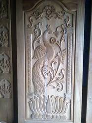SPL Hand Carved Temple Door VU 925