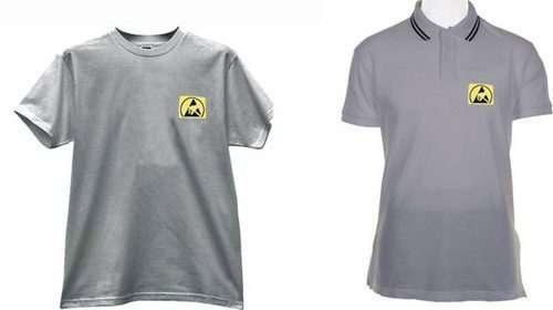 Anti Static Clothing : Anti static esd t shirts view specifications details