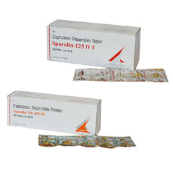 Cephalexin Dispersible 125/250 mg Tablet