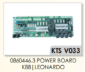 VAMATEX K88,LEONARDO 0860446.3 POWER BOARD