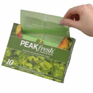Peak Fresh Bags Increase Shelf Life Of Produce