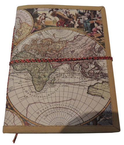 Handmade paper world map journal at rs 200 piece new sanganer handmade paper world map journal gumiabroncs Choice Image