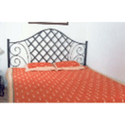 Wrought Iron Fabricated Double Bed