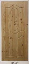 Decorative Pine Wood Doors