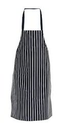 Cotton Striped Cooking Aprons
