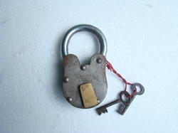 Antique Pad Lock
