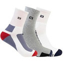Supersox Men Solid Ankle Length Socks