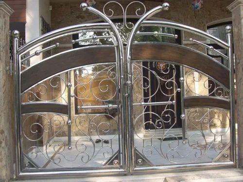 Stainless Steel Gates Steel Gates Manufacturer From New Delhi