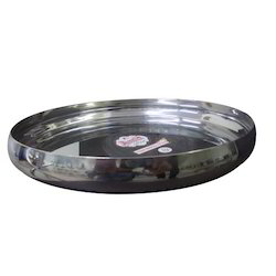 Stainless Steel Round Thali