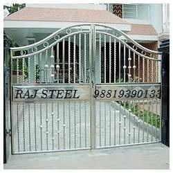 Beau Stainless Steel Gate