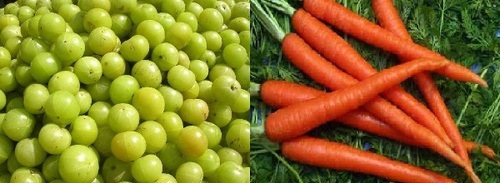 Image result for Carrot and Amla