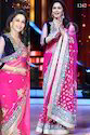Pink Bollywood Sarees