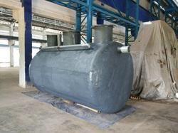 Mild Steel Underground Acid Storage Tank
