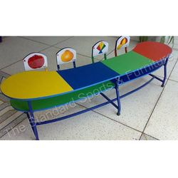 Telephone Shape Model Table with Laminated Chair