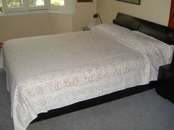 Indian Applique Bedcover