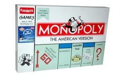 Multicolor Gisco Monopoly American Version