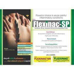 Aceclofenac 100 Mg, Paracetamol 500 Mg & Serratiopeptidase