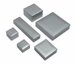 Metal Plain Silver Jewellery Boxes