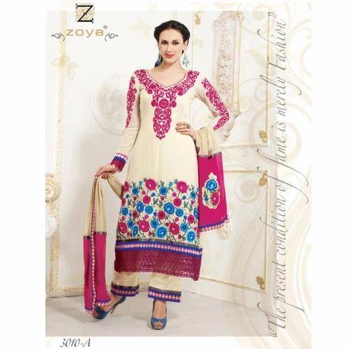 Designer Salwar Kameez Neck Designs Salwar Kameez Exporter From Surat