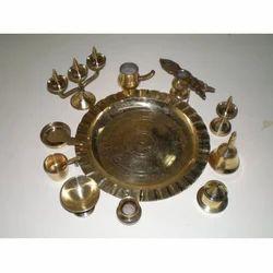 Miniature Ashtamangalam Set