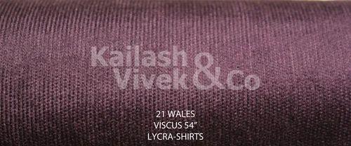 21 Wale Lycra Corduroy Fabric