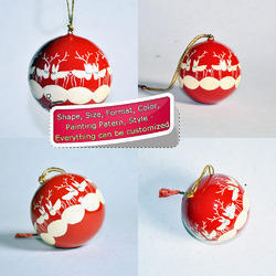 Rain Deer Holiday Decoration Hanging Christmas Bauble