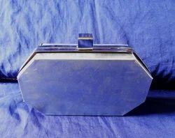 Small Octagon Box Clutch