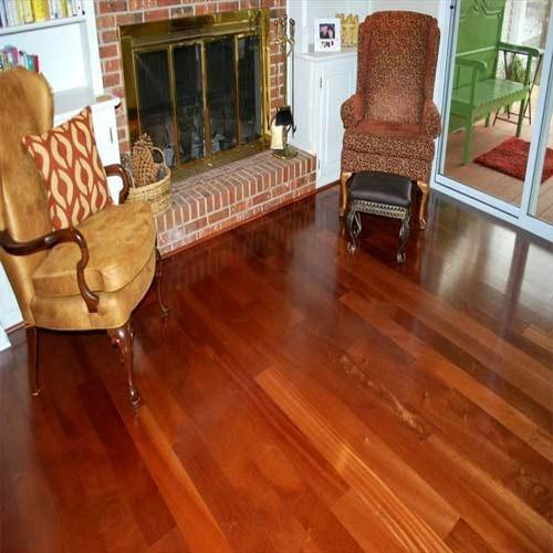 African Sapele Wood Flooring At Rs 300 Square Feet Malad East