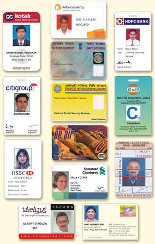 Employee Id Card Printing Services In Huda Market Gurgaon