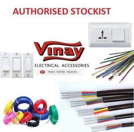 vinay electrical accessories suyog enterprise wholesale sellers rh indiamart com Automotive Wiring Accessories Automotive Wiring Accessories