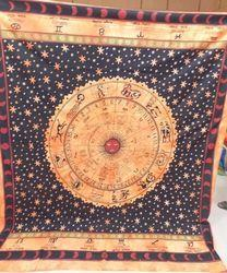 Horoskop Tapestry Wall Hanging Throw Bedspread