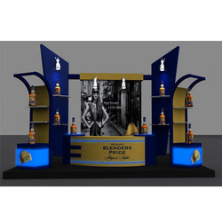 Retail Kiosks Display Counter
