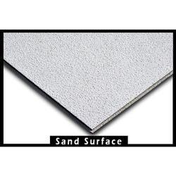 Mineral Fibre Ceiling Tiles Sand Finish Texture