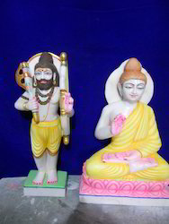 Indoor Marble Dashavatar Statue