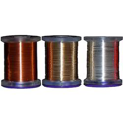 Tinsel Silver Wires Round