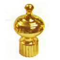 Gold Crown Shaped Finial