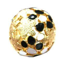 Stone Kundan Enamel Ring
