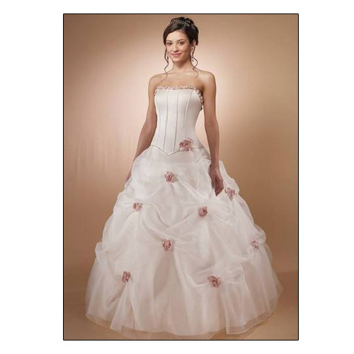 highly praised clearance sale free delivery Corset Top Wedding Gown