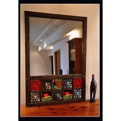 Bathroom Mirror Kolkata decorative mirrors in kolkata, west bengal | manufacturers