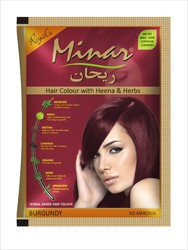 Minar Hair Colour