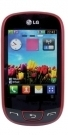 LG T515 - Wine Red Mobile Phones